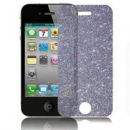 5 protectores de pantalla DIAMANTE HQ para iPhone 4 / 4S