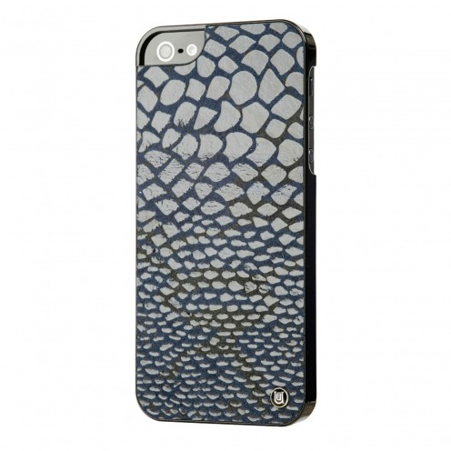 Carcasa iPhone 5 / 5S Uunique® London Slimline Snake Azul