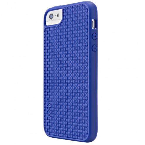Carcasa Skech® GripShock TPU Azul por iPhone 5/5S