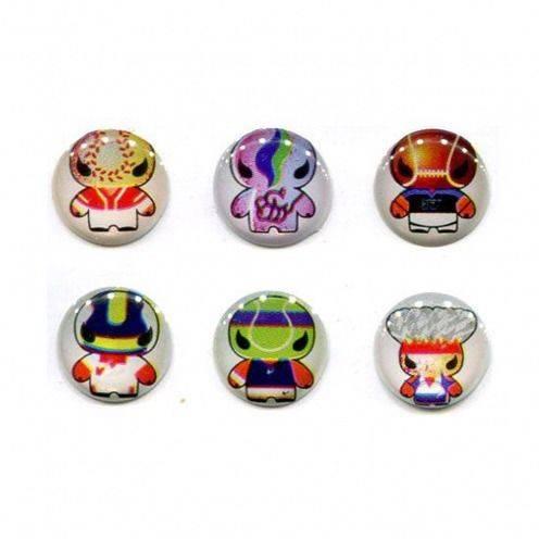 Inicio de la etiqueta engomada botón Home iPhone 3 g / 4 / 4s / 5 diseño Manga