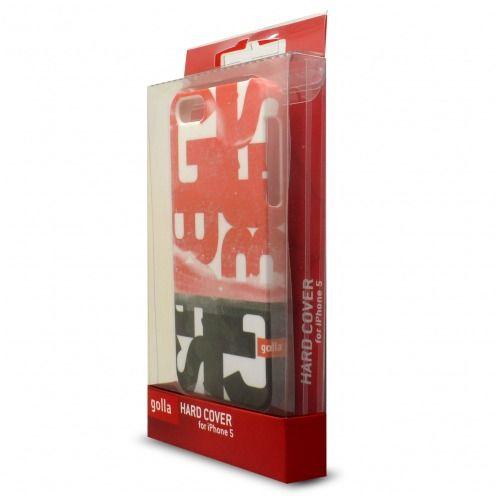 Carcasa iPhone 5/5S/SE Extra Fina Golla® Steve Colección Rojo