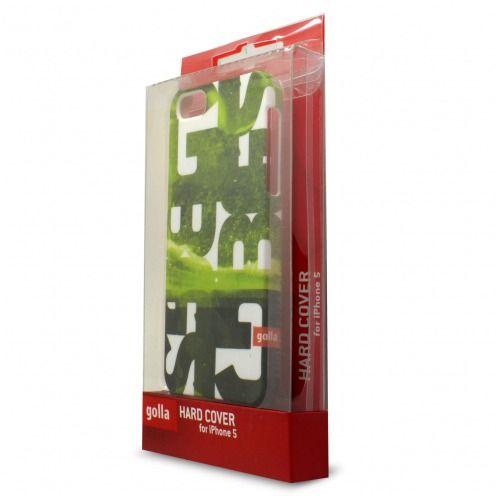 Carcasa iPhone 5/5S/SE Extra Fina Golla® Steve Colección Verde