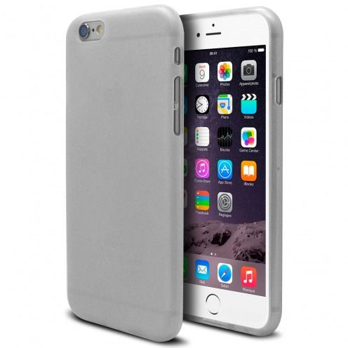 Carcasa iPhone 6 Plus Frozen Ice Extra Fina Blanco
