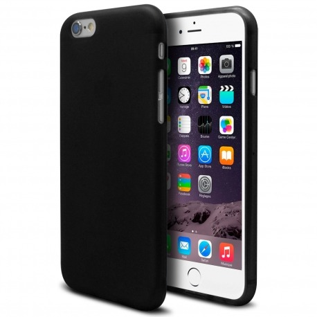 1e4bcf772bb Carcasa iPhone 6 Plus Muvit® MyFrame Bi-materia Azul - Transparente ...