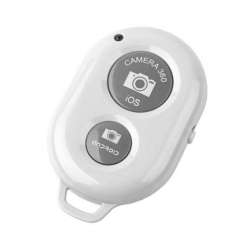 Bluetooth 3.0 RemoteShutter teledirigido para Selfiestick Blanco