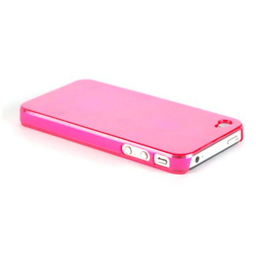 Carcasa Crystal iPhone 4 / 4S Rosa