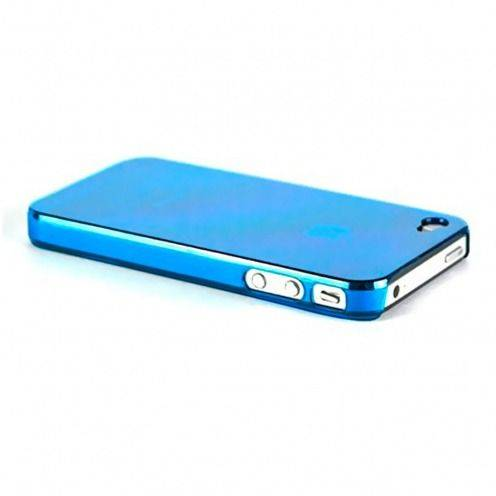 Carcasa Crystal iPhone 4 / 4S Azul