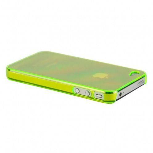 Carcasa Crystal iPhone 4 / 4S Verde