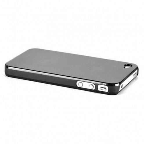 Carcasa Crystal iPhone 4 / 4S Negra