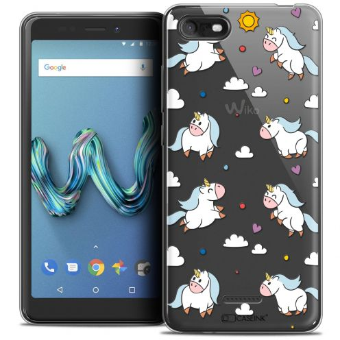 """Carcasa Crystal Gel Extra Fina Wiko Tommy 3 (5.45"""") Fantasia Licorne In the Sky"""
