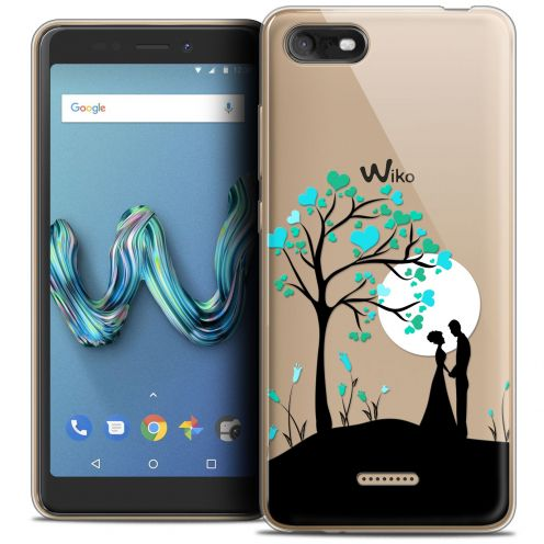 "Carcasa Crystal Gel Extra Fina Wiko Tommy 3 (5.45"") Love Sous l'arbre"