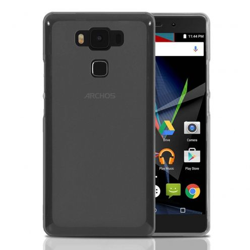 Coque Archos Diamond 2 Plus Frozen Ice Extra Fine Gel Noir Fumé
