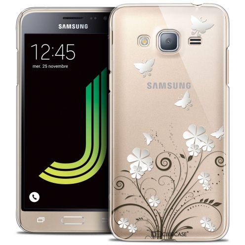Coque Crystal Samsung Galaxy J3 2016 (J320) Extra Fine Summer - Papillons