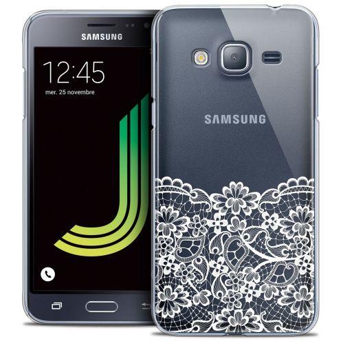 Coque Crystal Samsung Galaxy J3 2016 (J320) Extra Fine Spring - Bas dentelle