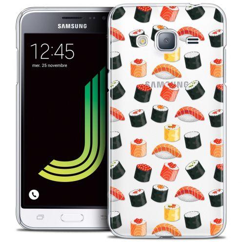 Coque Crystal Samsung Galaxy J3 2016 (J320) Extra Fine Foodie - Sushi