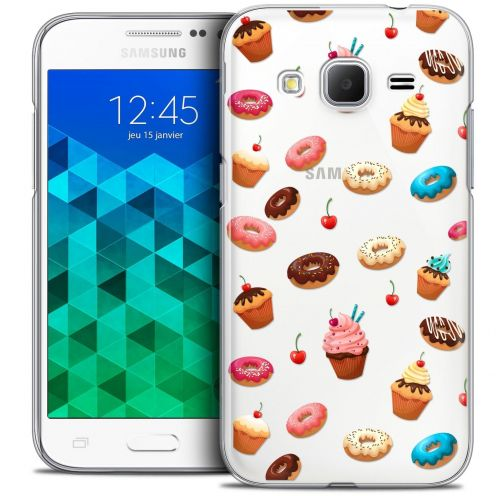 Coque Crystal Samsung Galaxy Core Prime (G360) Extra Fine Foodie - Donuts