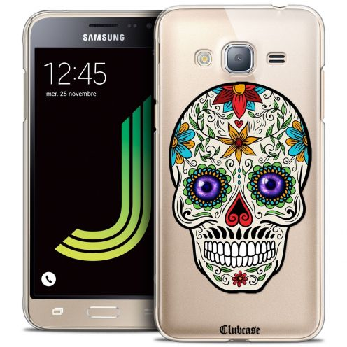 Coque Crystal Galaxy J3 2016 (J320) Extra Fine Skull - Maria's Flower