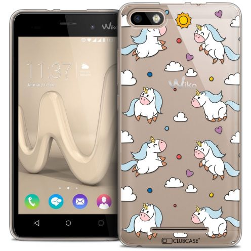Coque Crystal Gel Wiko Lenny 3 Extra Fine Fantasia - Licorne In the Sky
