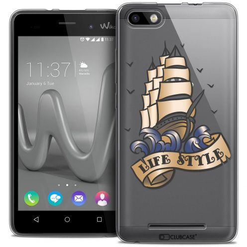 Coque Crystal Gel Wiko Lenny 3 Extra Fine Tatoo Lover - Life Style