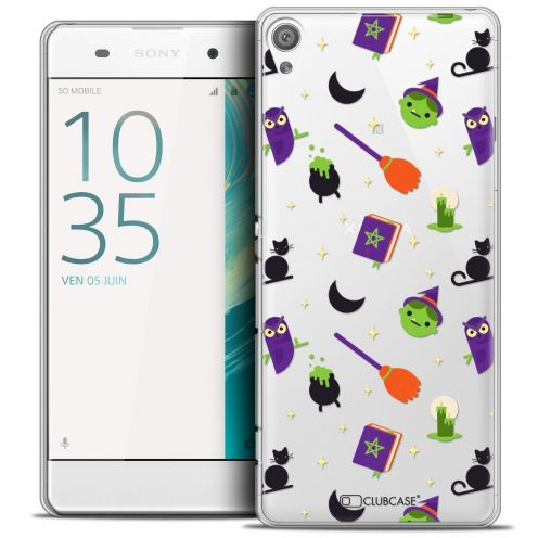 "Coque Crystal Sony Xperia XA 5"" Extra Fine Halloween - Witch Potter"