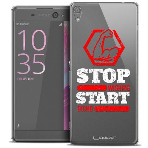 "Coque Crystal Sony Xperia XA 5"" Extra Fine Quote - Start Doing"