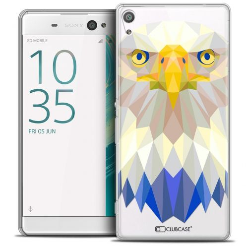 "Coque Crystal Xperia XA Ultra 6"" Extra Fine Polygon Animals - Aigle"