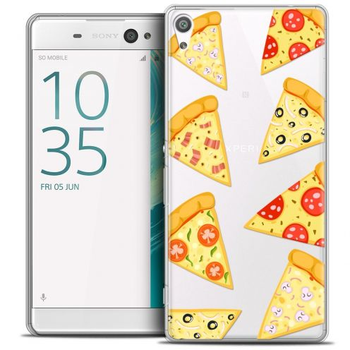 "Coque Crystal Xperia XA Ultra 6"" Extra Fine Foodie - Pizza"