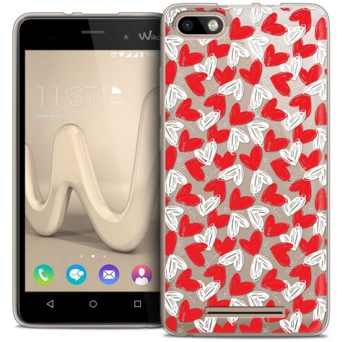 Coque Crystal Gel Wiko Lenny 3 Extra Fine Love - With Love