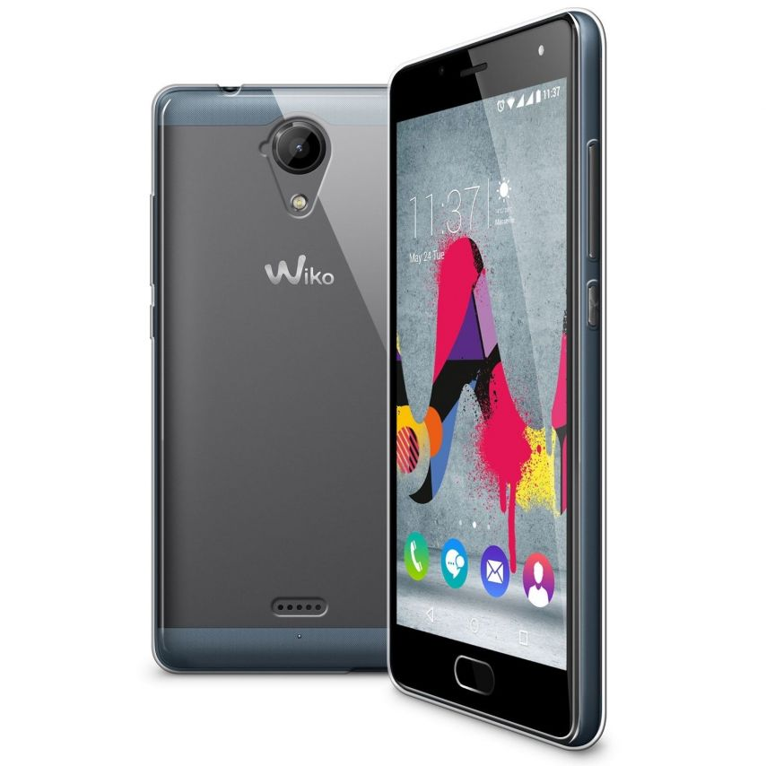 Coque Wiko U Feel Lite Extra Fine Souple Crystal Clear