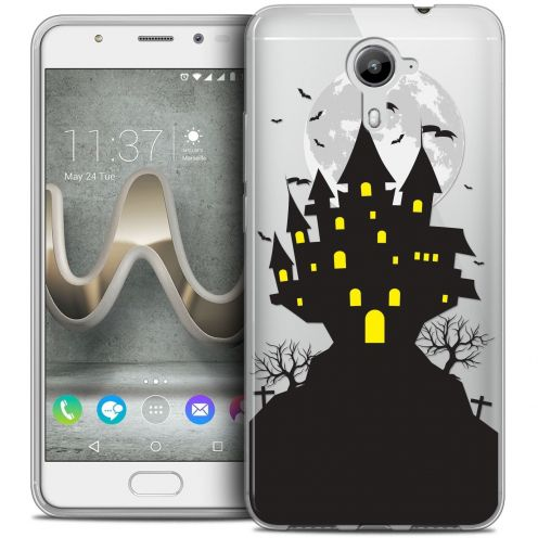 Coque Crystal Gel Wiko U Feel PRIME Extra Fine Halloween - Castle Nightmare