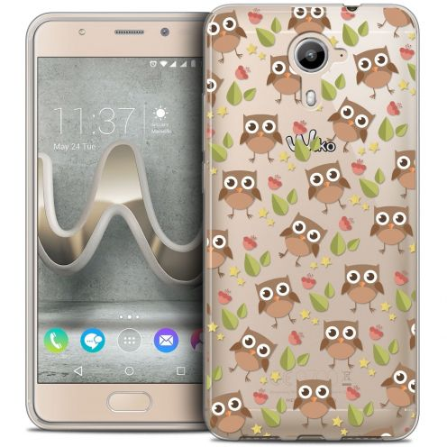 Coque Crystal Gel Wiko U Feel PRIME Extra Fine Summer - Hibou
