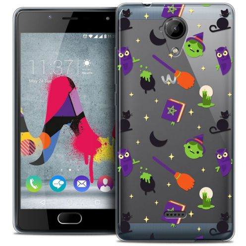 Coque Crystal Gel Wiko U Feel LITE Extra Fine Halloween - Witch Potter