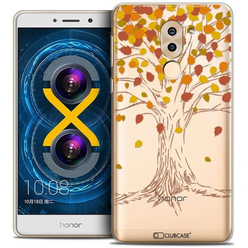 Coque Crystal Gel Huawei Honor 6X Extra Fine Autumn 16 - Tree