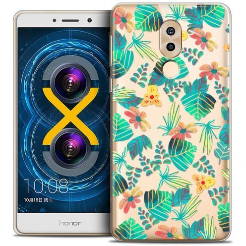 Coque Crystal Gel Huawei Honor 6X Extra Fine Spring - Tropical