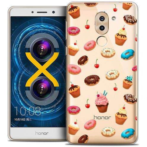 Coque Crystal Gel Huawei Honor 6X Extra Fine Foodie - Donuts
