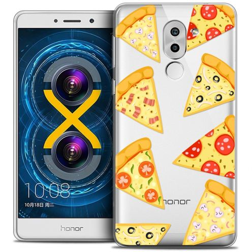 Coque Crystal Gel Huawei Honor 6X Extra Fine Foodie - Pizza
