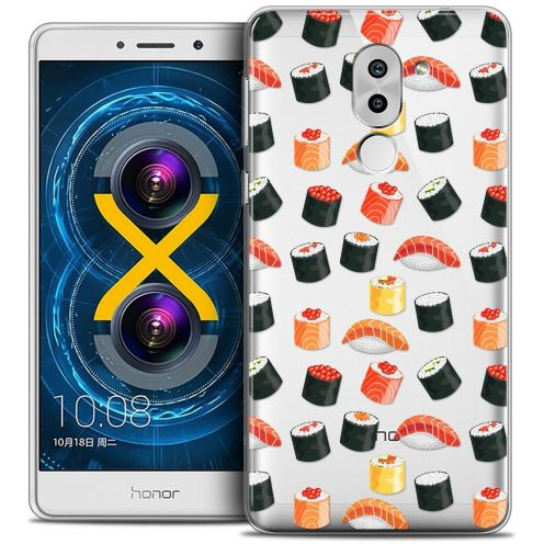 Coque Crystal Gel Huawei Honor 6X Extra Fine Foodie - Sushi