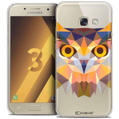 Coque Crystal Samsung Galaxy A3 2017 (A320) Extra Fine Polygon Animals - Hibou