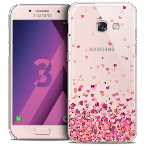 Coque Crystal Samsung Galaxy A3 2017 (A320) Extra Fine Sweetie - Heart Flakes