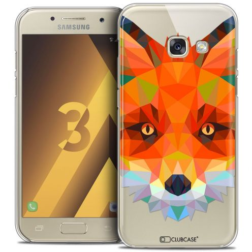 Coque Crystal Samsung Galaxy A3 2017 (A320) Extra Fine Polygon Animals - Renard