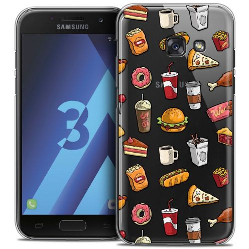 Coque Crystal Samsung Galaxy A3 2017 (A320) Extra Fine Foodie - Fast Food