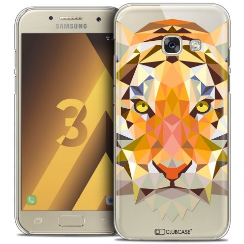 Coque Crystal Samsung Galaxy A3 2017 (A320) Extra Fine Polygon Animals - Tigre