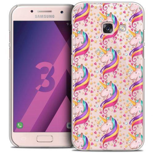 Coque Crystal Samsung Galaxy A3 2017 (A320) Extra Fine Fantasia - Licorne Etoilée