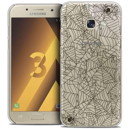 Coque Crystal Samsung Galaxy A3 2017 (A320) Extra Fine Halloween - Spooky Spider