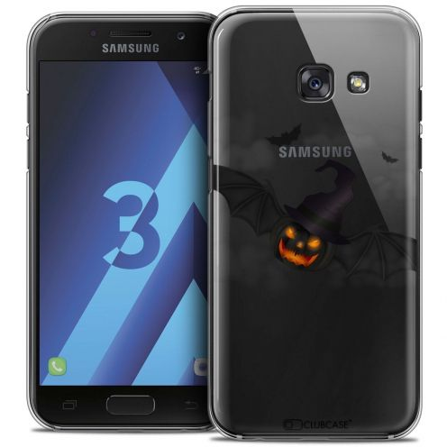 Coque Crystal Samsung Galaxy A3 2017 (A320) Extra Fine Halloween - Chauve Citrouille