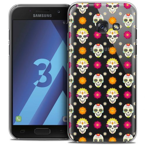 Coque Crystal Samsung Galaxy A3 2017 (A320) Extra Fine Halloween - Skull Halloween