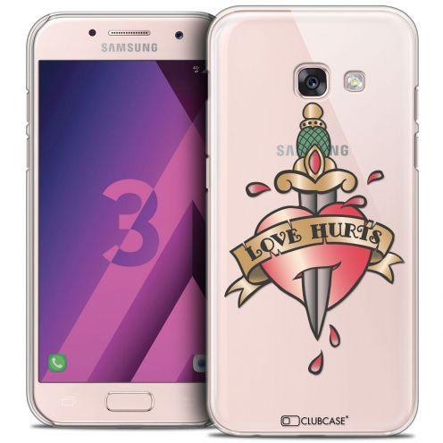 Carcasa Crystal Extra Fina Samsung Galaxy A3 2017 (A320) Tatoo Lover Love Hurts