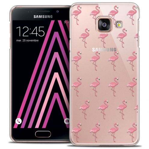Coque Crystal Samsung Galaxy A3 2016 (A310) Extra Fine Pattern - Les flamants Roses
