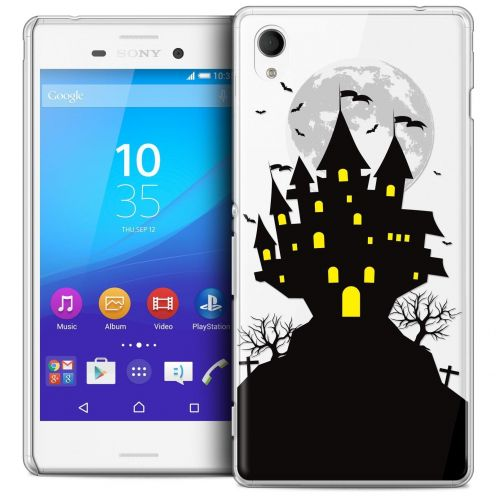 Carcasa Crystal Extra Fina Sony Xperia M4 Aqua Halloween Castle Scream