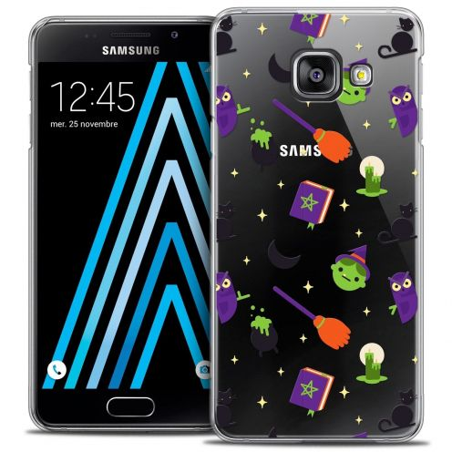 Carcasa Crystal Extra Fina Samsung Galaxy A3 2016 (A310) Halloween Witch Potter
